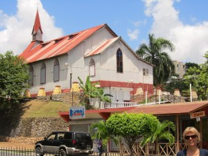 IED church in Samana