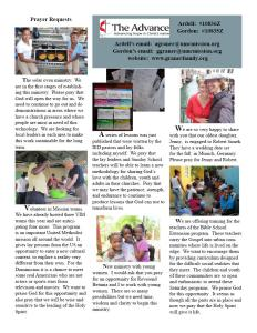 April 2016 newsletter2